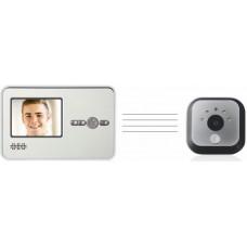 بهترین دوربین چشمی دیجیتال درب آپارتمان رم خور دید در شب بدون نیاز به برق  و سیم کشی با مانیتور2.8اینچ★مدل30★