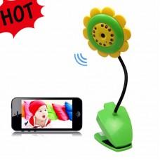 کوچکترین دوربین بیسیمwifi وای فای اتاق کودکان و سالمندان قابل نصب بر روی گوشی اندرویدبا قابلیت ضبط تصاویر و صدا بر روی گوشی و تبلت،تصویر رنگی،دید در شبAndroid★مدل62★