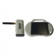 کوچکترین  دوربین و مانیتور دیجیتال بیسیم با برد300متر★مدل32★